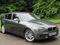 USED 2012 12 BMW 1 SERIES 2.0 118D SPORT 5d  FULL LEATHER INTERIOR, FULL PRO SAT NAV