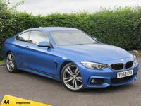 USED 2013 63 BMW 4 SERIES 2.0 428I M SPORT 2d AUTOMATIC * AUTOMATIC * PADDLES * CRUISE CONTROL * ECO AND SPORT MODES *