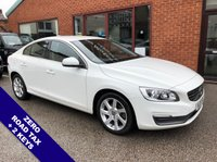 "USED 2015 15 VOLVO S60 2.0 D4 SE NAV 4DOOR 178 BHP DAB   :   Sat Nav   :   USB & AUX   :   Car WiFi   :   Cruise Control / Speed Limiter       Bluetooth     :     Climate Control / Air Conditioning     :     Contrasting Leather Upholstery      Rear Parking Sensors   :   17"" Alloy Wheels   :   2 Keys   :   Full Service History"