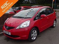 USED 2009 59 HONDA JAZZ 1.3 I-VTEC ES 5dr, SERVICE HISTORY YES ONLY 54,000 MILES FROM NEW, 6 MONTHS WARRANTY