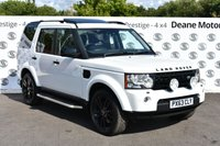 USED 2013 63 LAND ROVER DISCOVERY 3.0 4 SDV6 HSE 5d AUTO 255 BHP BLACK PACK