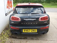 USED 2017 67 MINI CLUBMAN 2.0 JOHN COOPER WORKS ALL4 5d 228 BHP £145 RFL,REMAINDER OF 3 YEAR WARRANTY,TECH PACK,FULL SERVICE HISTORY,