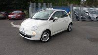 USED 2011 61 FIAT 500 1.2 LOUNGE DUALOGIC 3d AUTO 69 BHP AUTOMATIC AND ONLY 15,26 MILES!!