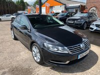 2012 VOLKSWAGEN CC 2.0 TDI BLUEMOTION TECHNOLOGY 4d 138 BHP £4990.00