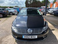 USED 2012 12 VOLKSWAGEN CC 2.0 TDI BLUEMOTION TECHNOLOGY 4d 138 BHP