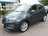 USED 2017 67 VAUXHALL MOKKA X 1.4 DESIGN NAV S/S 5d 138 BHP SATELLITE NAVIGATION, BLUETOOTH, PARKING SENSORS, TOUCH SCREEN, DAB RADIO, £145 RFL, 1 OWNER,
