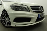 USED 2013 63 MERCEDES-BENZ A CLASS 1.5 A180 CDI BLUEEFFICIENCY AMG SPORT 5d 109 BHP Leather/ Suede Interior- AUX