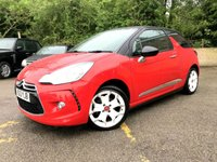 2013 CITROEN DS3 1.6 E-HDI DSTYLE 3d ONLY 58,000 MILES, FREE TAX, 2 KEYS  £4990.00