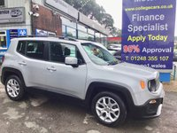 USED 2015 65 JEEP RENEGADE 1.4 LONGITUDE 5d AUTO 138 BHP, only 27000 miles ***APPROVED DEALER FOR CAR FINANCE247 AND ZUTO  ***