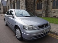 USED 2002 02 VAUXHALL ASTRA 1.4 LS 16V 5d 90 BHP ONLY TWO OWNERS, DRIVES WELL,