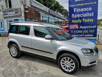 USED 2016 16 SKODA YETI 2.0 OUTDOOR SE BUSINESS TDI SCR 5d 109 BHP, only 34000 miles ***APPROVED DEALER FOR CAR FINANCE247 AND ZUTO  ***