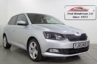 USED 2015 65 SKODA FABIA 1.2 SE L TSI 5d 109 BHP Lovely Skoda Fabia SE L in metallic Silver Grey. One owner from new;fantastic fuel economy and low tax and look at that price. . We offer ZERO deposit finance at competitive rates and we welcome your part exchange.To arrange a viewing or test drive simply get in touch and one of our experienced sales team will be pleased to assist.