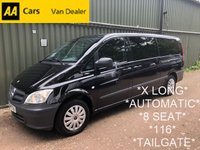 USED 2014 64 MERCEDES-BENZ VITO 2.1 116 CDI TRAVELINER X-LONG *160BHP*8 SEAT*AUTOMATIC*TAILGATE*