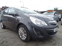 2011 VAUXHALL CORSA 1.2 SE PETROL HALF LEATHER  £3000.00