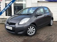 USED 2010 59 TOYOTA YARIS 1.3 TR VVT-I 5d 99 BHP SUPPLIED WITH 12 MONTHS MOT, LOVELY CAR TO DRIVE