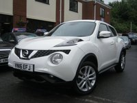 USED 2016 16 NISSAN JUKE 1.5 N-CONNECTA DCI 5d 110 BHP