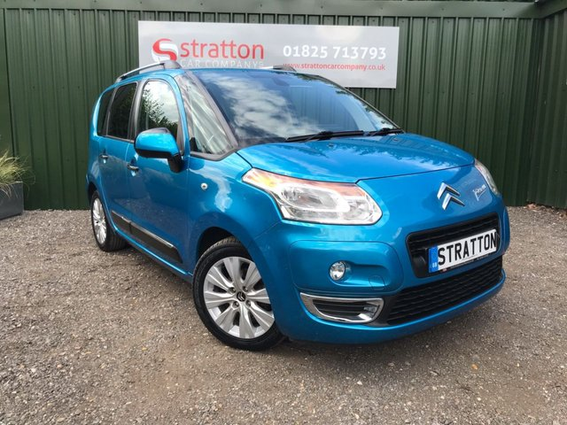 2011 60 CITROEN C3 PICASSO 1.6 PICASSO EXCLUSIVE HDI 5d 90 BHP