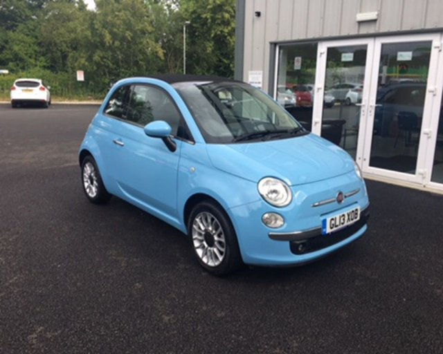 2013 13 FIAT 500 1.2 LOUNGE CONVERTIBLE