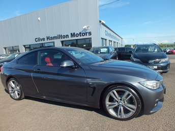2014 BMW 4 SERIES 2.0 420D M SPORT 2d 181 BHP SAT- NAV ELEC HEATED MEMORY SEATS £12950.00