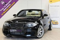 USED 2008 58 BMW 1 SERIES 3.0 135I M SPORT 2d AUTO 302 BHP HEATED SEATS, XENONS, FULL SERVICE HISTORY, UPGRADED SUSPENSION