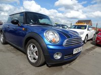 2008 MINI HATCH COOPER 1.6 COOPER 1 OWNER FROM NEW £2000.00