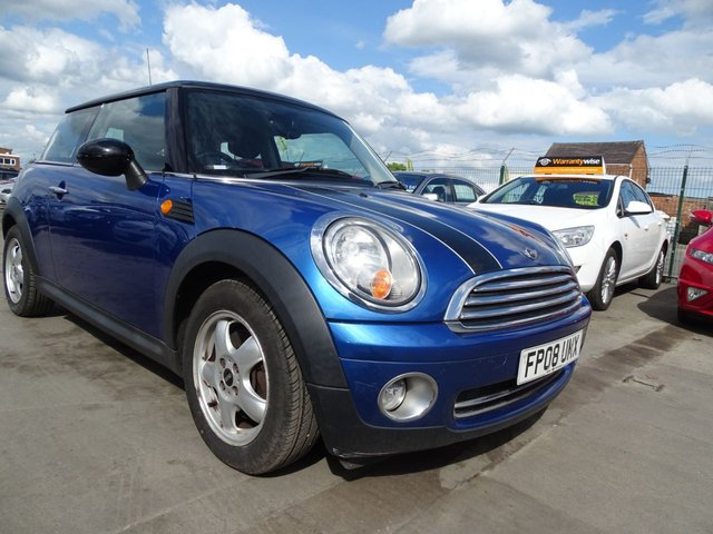 USED 2008 08 MINI HATCH COOPER 1.6 COOPER 1 OWNER FROM NEW