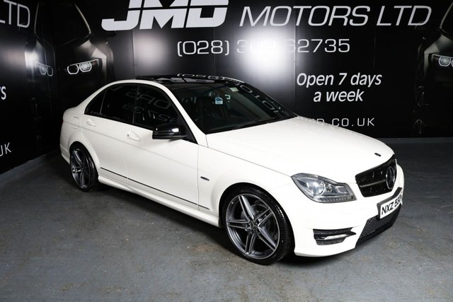 2012 12 MERCEDES-BENZ C CLASS C220 CDI BLUEEFFICIENCY SPORT AUTO 168 BHP NIGHT EDITION STYLE ()FINANCE AND WARRANTY