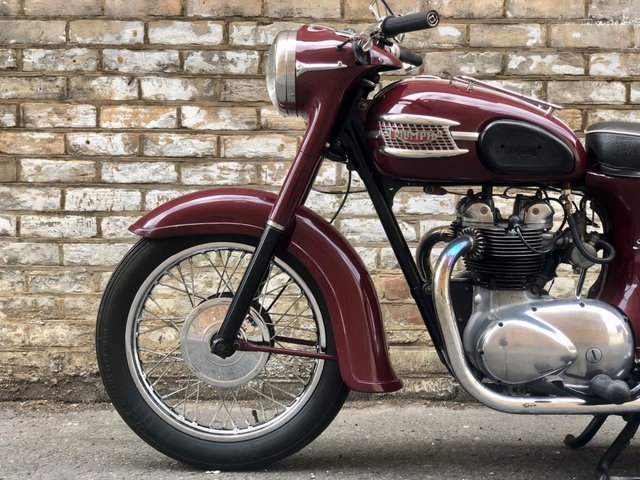 1963 TRIUMPH 5TA 1963 // Speed Twin // 500cc // Classic bike // Matching numbers // px swap