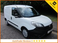 USED 2016 16 FIAT DOBLO 1.6 16V MULTIJET 1d 105 BHP, *AIR CON* Fantastic Value New  Shape Fiat Doblo Van with Air Conditioning, Side Loading Door, Factory Bulkhead and Service History.