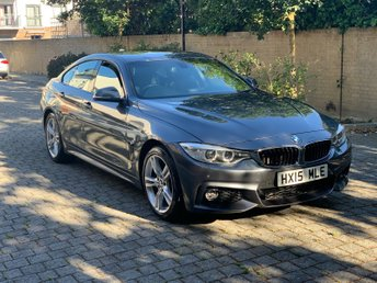 2015 BMW 4 SERIES 2.0 420I M SPORT GRAN COUPE 4d AUTO 181 BHP £SOLD