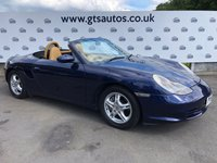 USED 2002 52 PORSCHE BOXSTER 2.7 SPYDER 228 BHP LOW MILES JUST SERVICED