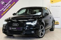 USED 2013 13 AUDI A1 2.0 TDI BLACK EDITION 3d 143 BHP AUDI SOUND SYSTEM, LED LIGHT PACK, FULL SERVICE HISTORY