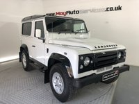 2013 LAND ROVER DEFENDER 2.2 TD COUNTY STATION WAGON 1d 122 BHP £27995.00
