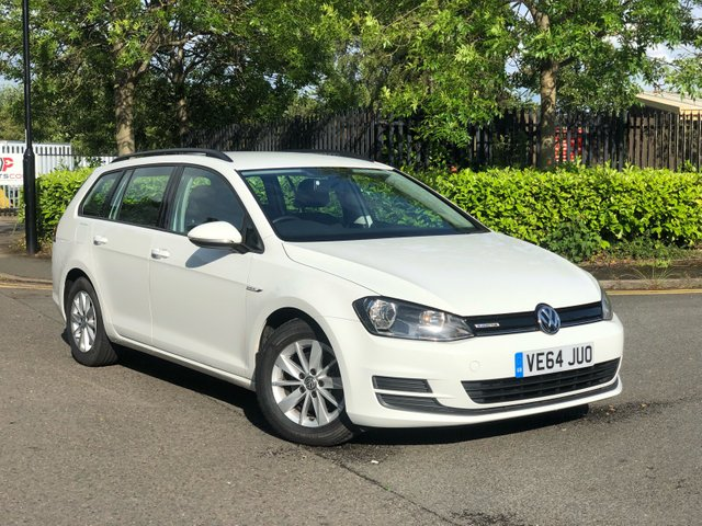 2014 64 VOLKSWAGEN GOLF 1.6 BLUEMOTION TDI 5d 108 BHP