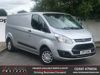USED 2017 17 FORD TRANSIT CUSTOM 290 2.0 130 BHP TREND L2 H1**OVER 85 VANS IN STOCK