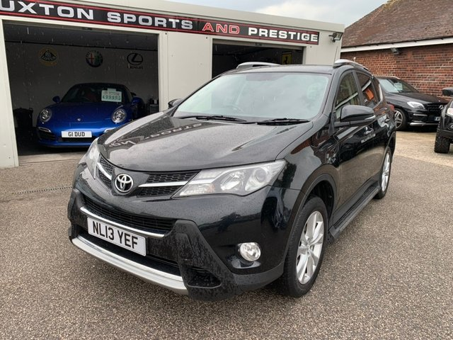 TOYOTA RAV4 at Euxton Sports and Prestige