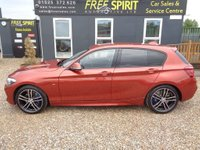 USED 2017 67 BMW 1 SERIES 2.0 118d M Sport Shadow Edition Sports Hatch (s/s) 5dr Nav, DAB, Leather, Bluetooth