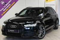 USED 2016 16 AUDI A6 2.0 AVANT TDI QUATTRO BLACK EDITION 5d AUTO 188 BHP SAT NAV, HEATED VALCONA LEATHER, BOSE SOUND SYSTEM, ELEC FOLDING MIRRORS, ELEC TAILGATE, CRUISE