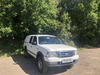 2006 FORD RANGER 2006 FORD RANGER 2.5 DOUBLE CAB4X4 TD 1d 107 BHP WHITE £SOLD