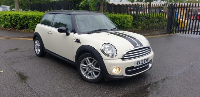 2012 12 MINI HATCH COOPER 1.6 COOPER D 3d 112 BHP