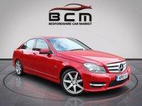 2012 MERCEDES-BENZ C CLASS 2.1 C220 CDI BLUEEFFICIENCY SPORT 4d AUTO 168 BHP £7485.00