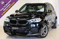 USED 2015 15 BMW X5 3.0 XDRIVE30D M SPORT 5d AUTO 255 BHP CARBON KIT, SAT NAV, ELEC FOLDING MIRRORS, LANE DEPARTURE SYSTEM, ELEC TAILGATE
