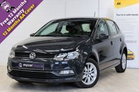USED 2015 15 VOLKSWAGEN POLO 1.4 SE TDI BLUEMOTION 5d 74 BHP CRUISE CONTROL, FRONT AND REAR PARK PACK, DAB RADIO, FREE TAX