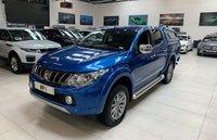 2017 MITSUBISHI L200 2.4 DI-D 4WD WARRIOR DCB 4d 178 BHP DIESEL PICKUP HARDTOP CANOPY £17995.00