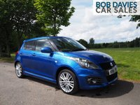 USED 2016 16 SUZUKI SWIFT 1.6 SPORT 5d 136 BHP
