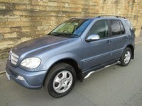 USED 2005 05 MERCEDES-BENZ M CLASS 2.7 ML270 CDI 5d AUTO 163 BHP