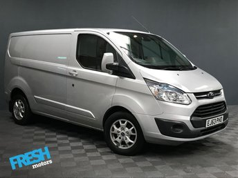 2013 FORD TRANSIT CUSTOM 2.2 270 LIMITED L1H1 £9885.00