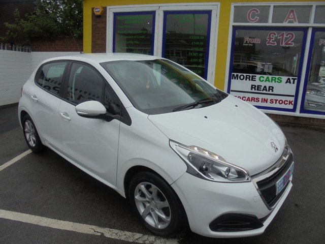 USED 2016 16 PEUGEOT 208 1.0 ACTIVE 5d 68 BHP