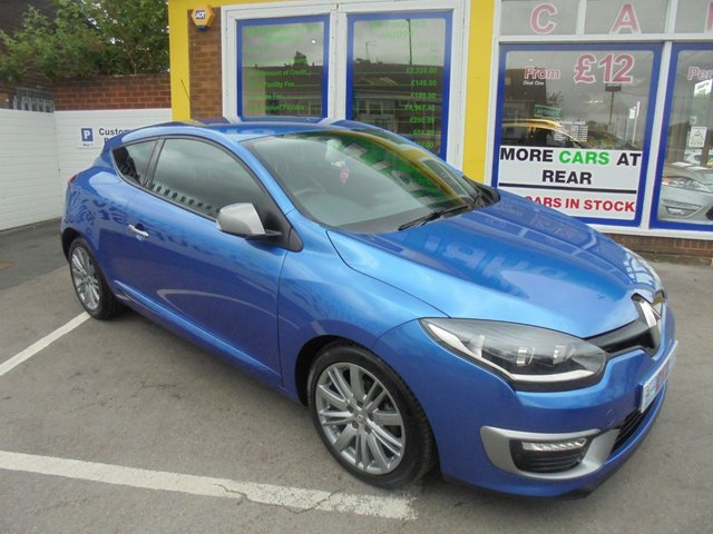 USED 2015 15 RENAULT MEGANE 1.6 GT LINE TOMTOM ENERGY DCI S/S 3d 130 BHP GT LINE COUPE JUST ARRIVED