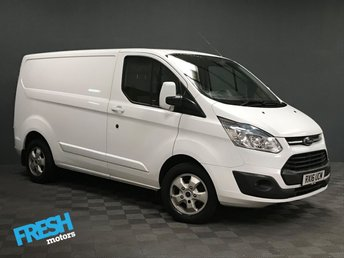 2016 FORD TRANSIT CUSTOM 2.2 290 LIMITED L1H1 £11000.00